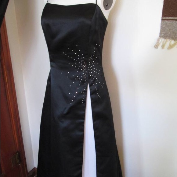 Dave & Johnny Dresses & Skirts - vintage formal dress with rhinestones